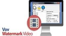 دانلود VovSoft Vov Watermark Video v1.5 - نرم افزار اضافه کردن واترمارک های متنی به فیلم