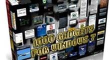 مجموعه ۹۰۰ گدجت ویندوز سون Windows 7 Gadgets