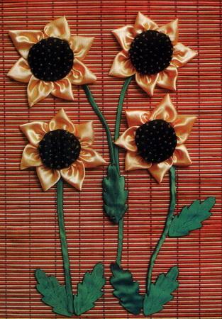 تابلوی گل آفتابگردان