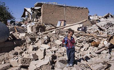 ۳ اثر مخرب زلزله بر روی کودکان و نوجوانان