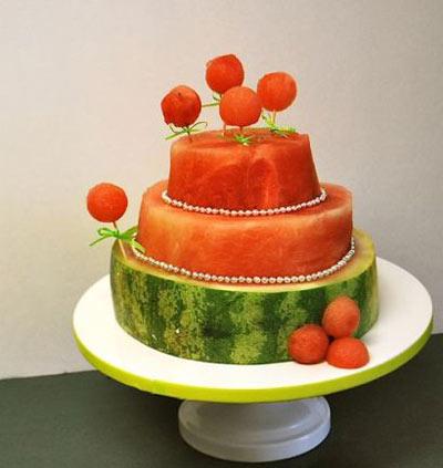 ایده هایی از تزئین هندوانه شب یلدا