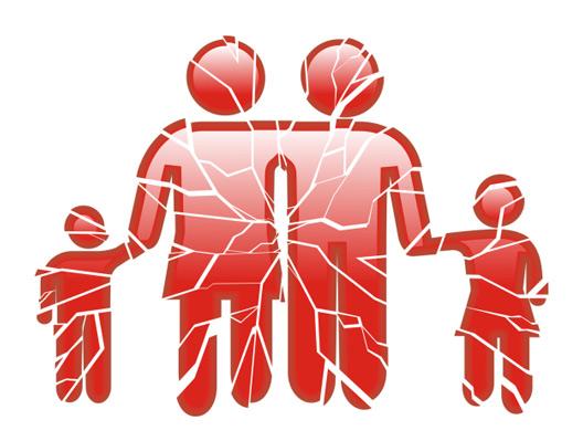 آسیب های خانواده گسسته و پریشان