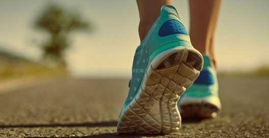 درمان بیماری ها با پیاده روی