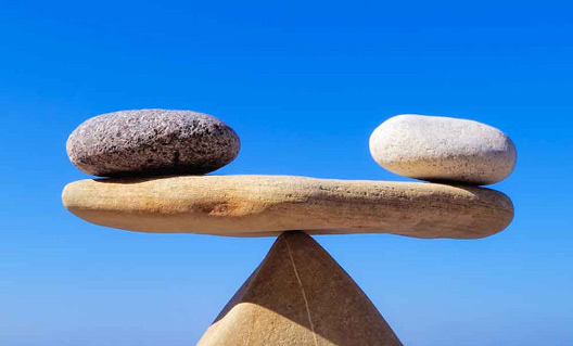 چگونه به نقطه تعادل زندگی برسیم؟