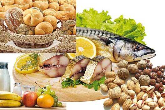 خوراکی های مفید در فصل بهار