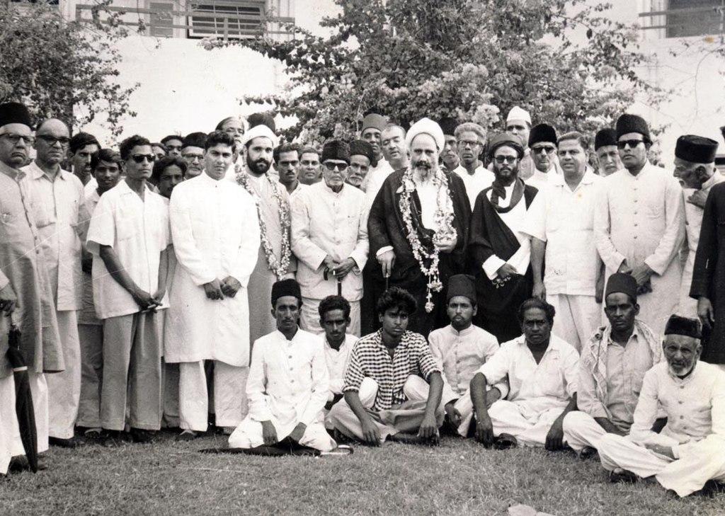 علامه امینی در جمع مسلمانان هندوستان