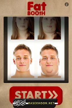 چاق کردن صورت با FatBooth v2.7 - راسخون