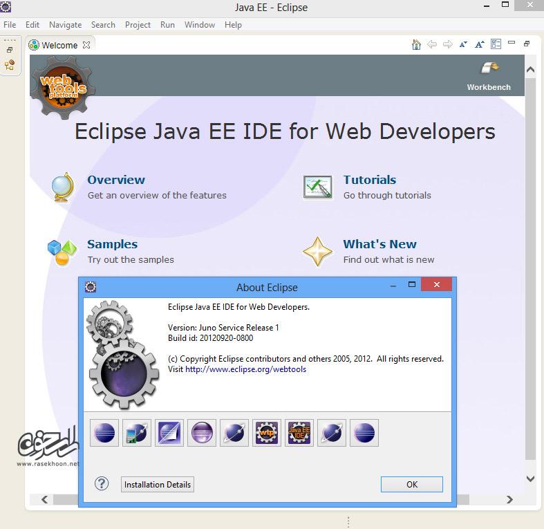 محیط برنامه نویسی جاوا با اکلیپس Eclipse IDE for Java EE ...لینک های دانلود
