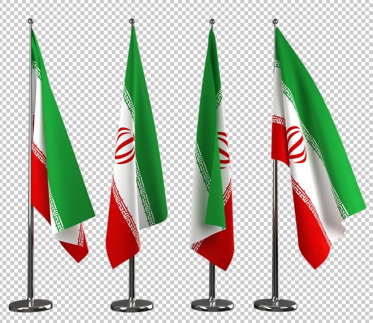 دانلود رایگان لایه باز پرچم ایران