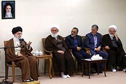 دیدار دستاندرکاران کنگره بزرگداشت آیتالله سید مصطفی خمینی