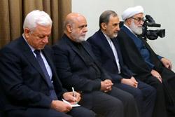 دیدار نخستوزیر عراق با رهبر انقلاب