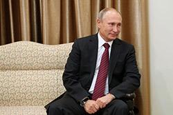 دیدار رئیسجمهوری روسیه و هیات همراه با رهبر انقلاب