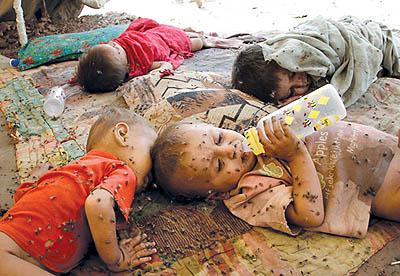 وکودکِ پاکستانی هم ........... تماشا نکنید