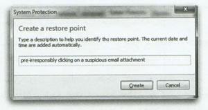 تعمیر سیستم با System Restore