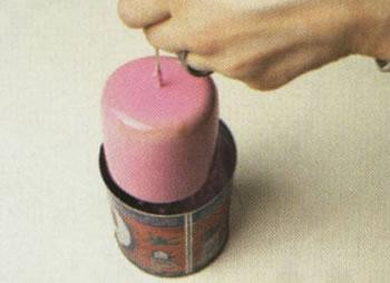 شمع مرمری