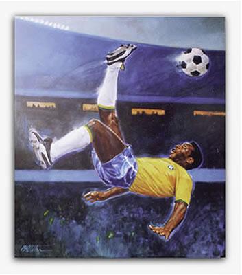 پله ، افسانه فوتبال