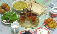 نکاتي در مورد تغذيه در ماه مبارک رمضان