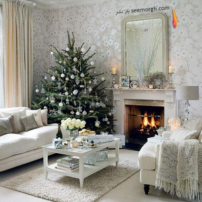 با دکوراسیون سفید به استقبال زمستان