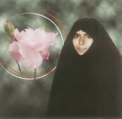 شهیده مریم فرهانیان در قامت یک خواهر(3)