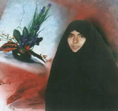 شهیده مریم فرهانیان در قامت یک خواهر (7)