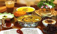 بايد و نبايدهاي تغذيه اي در ماه مبارك رمضان