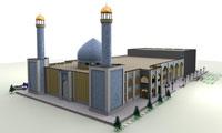 اعجاز نقش ، رنگ و نور در فضا سازي معنوي مسجد