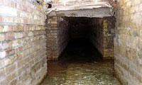 تصاویر: جریان آب در زیر حرم حضرت عباس (س)