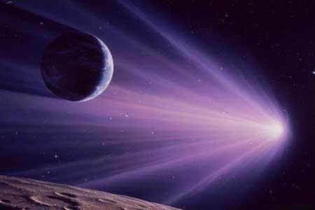آْيا ستاره ي دنباله داري در راه زمين است؟