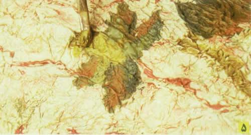 عیدانه سال 96 طرح بافت دار بزای نقاشی
