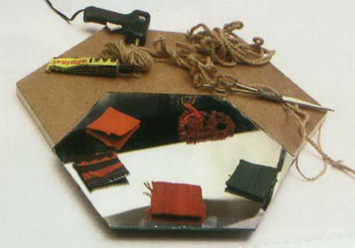 قاب آینه (6 ضلعی )