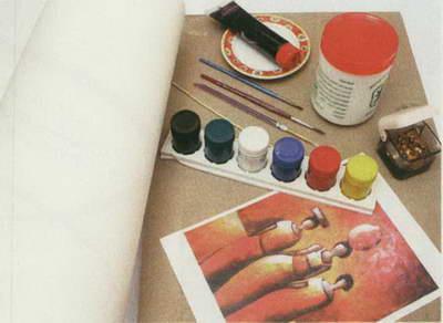 نقاش دکوراتیو ( بافت دار )
