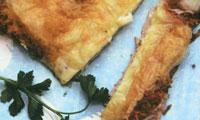 فیله ی ماهی با پنیر
