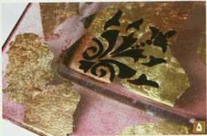 آنتیک ورق طلا