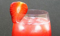 میلک شیک توت فرنگی