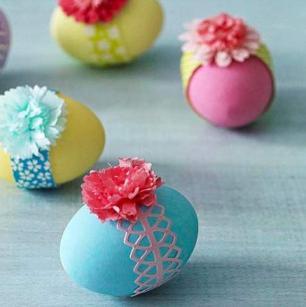 ایده هایی برای تخم مرغ رنگی (1)