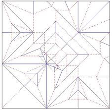 اُریگامی، تفنن مورد توجه ریاضیات
