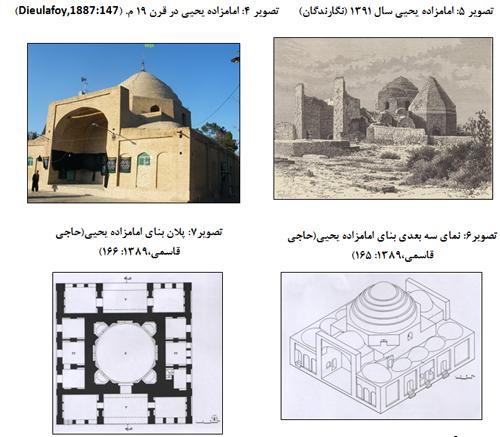 آرایه های گچبری بقعه امامزاده یحیی ورامین