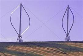 ژنراتور  های بادی محور عمودی