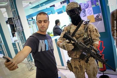 «چشم لیزری» روی سلاحهای تهاجمی ایرانی نصب شد