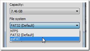 چه نوع سیستم فایلی باید برای فلش دیسک انتخاب شود؟