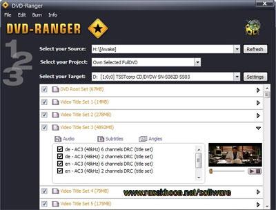 شکستن قفل تمامی دیسک ها با DVD-Ranger 3.1.1.0 ...
