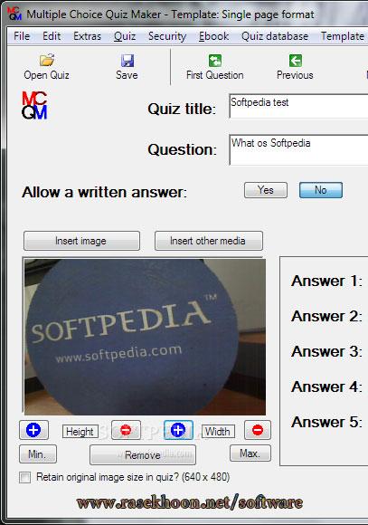 Multiple Choice Quiz Maker Software Free Download - ebooksdedal