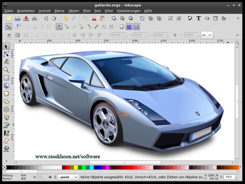 دنياي بازي سازي-Inkscape