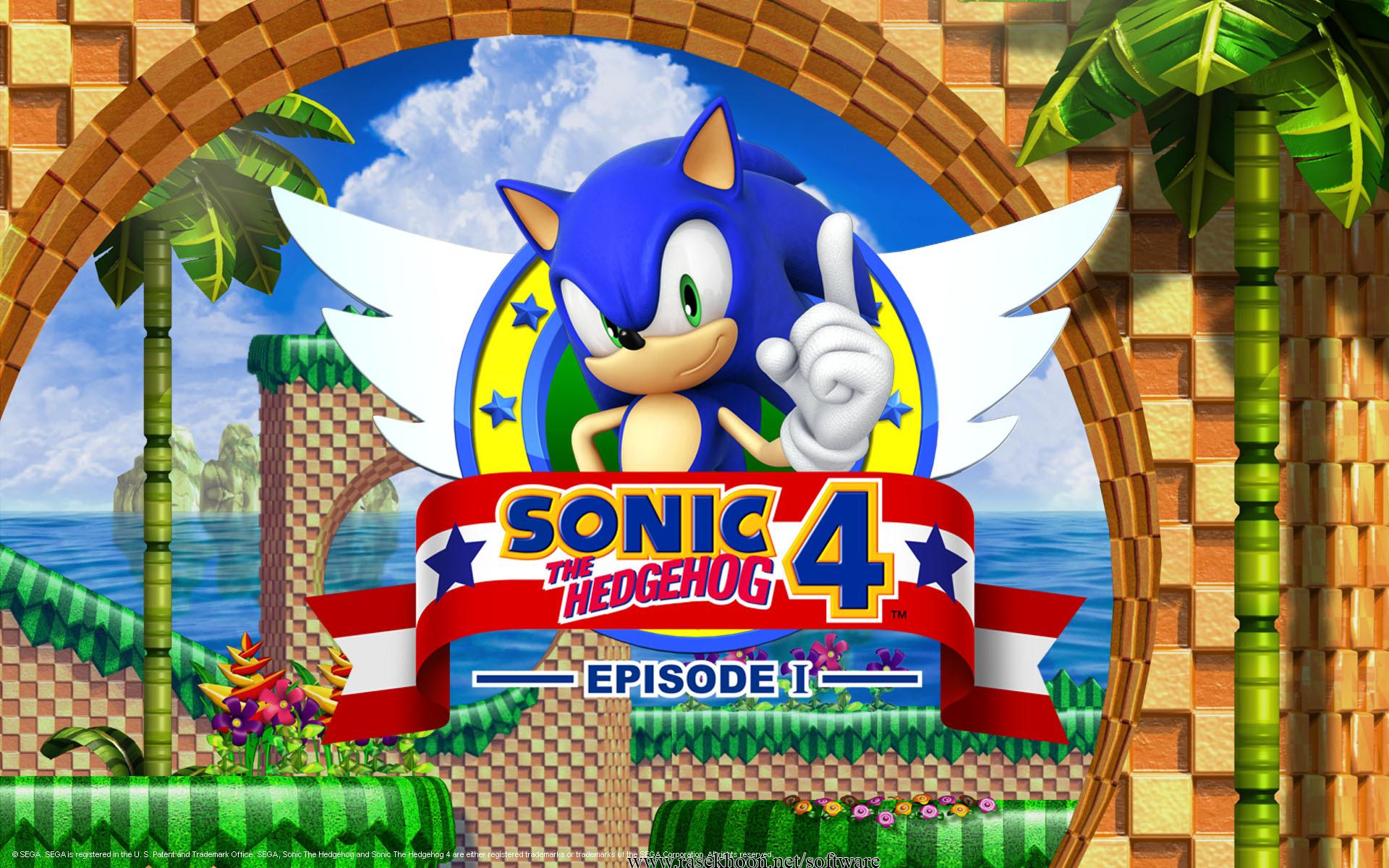 دانلود بازي سونيک نسخه 4 Sonic the Hedgehog 4  بازی آنلاین جالب سونیک آکاایران