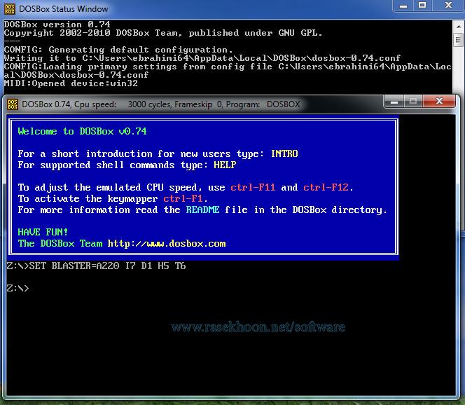 Dosbox 0 74: Windows 3 11 On Dosbox Windows – Hacienda Carmel